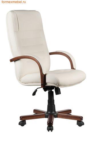 Кресло руководителя Рива M 155 A экокожа бежевая (фото)
