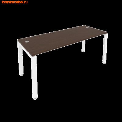 Стол рабочий Рива Б.СП-5 180 см венге цаво/белый металл (фото)