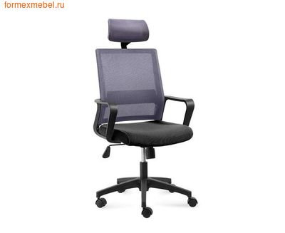 Компьютерное кресло NORDEN БИТ Бит  спинка серая (фото)