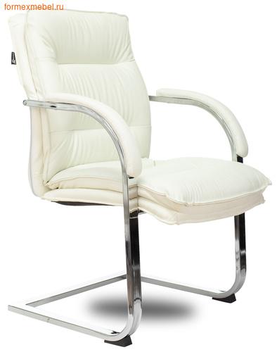 Кресло для посетителей офисное Бюрократ T-9927SL Low-V/black коричневое (фото)