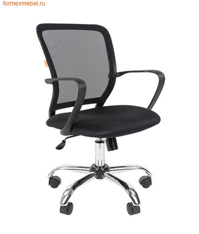 Компьютерное кресло Chairman CH-698 Chrome черное (фото)