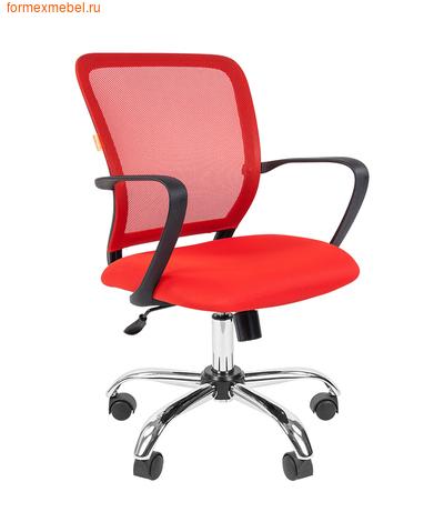 Компьютерное кресло Chairman CH-698 Chrome красное (фото)