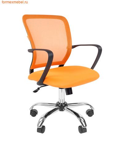 Компьютерное кресло Chairman CH-698 Chrome оранжевое ( цена июня) (фото)