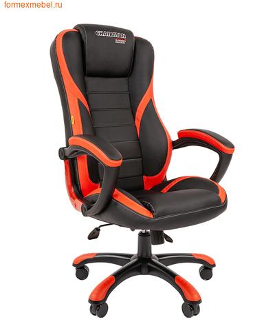 Компьютерное игровое кресло Chairman Game 22 черное с красным (фото)