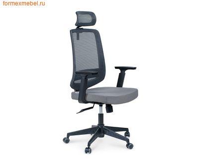 Компьютерное кресло NORDEN ЛОНДОН офис серое (фото)