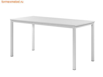 Стол рабочий ЭКСПРО CL-32 стол на металлокаркасе белый (фото)
