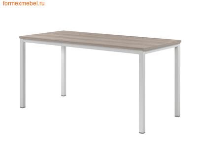 Стол рабочий ЭКСПРО CL-32 стол на металлокаркасе дуб Сантана светлый (фото)