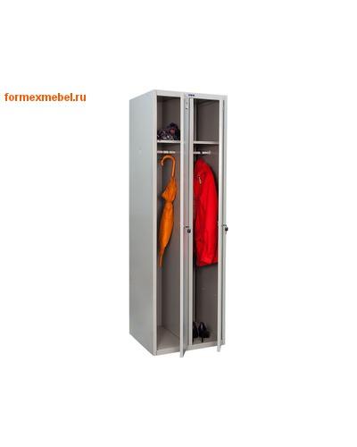 Шкаф для одежды двухсекционный LS(LE)-21