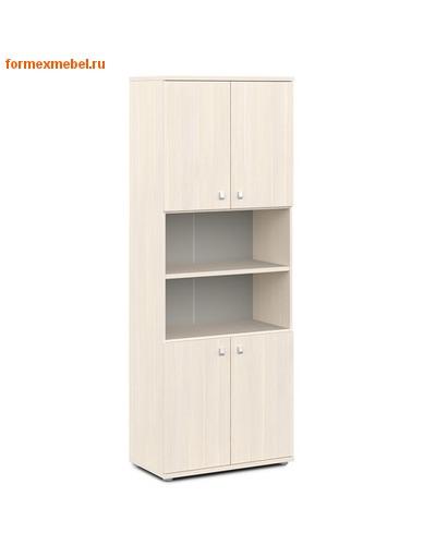 Шкаф для документов ЭКСПРО V-605 высокий полуоткрытый