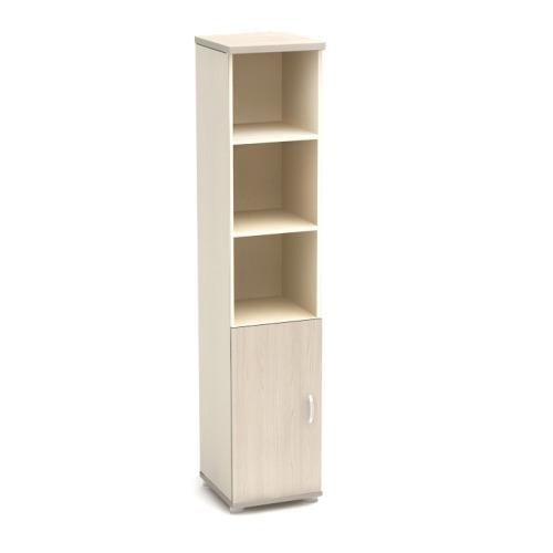 Шкаф для документов К9 узкий полуоткрытый