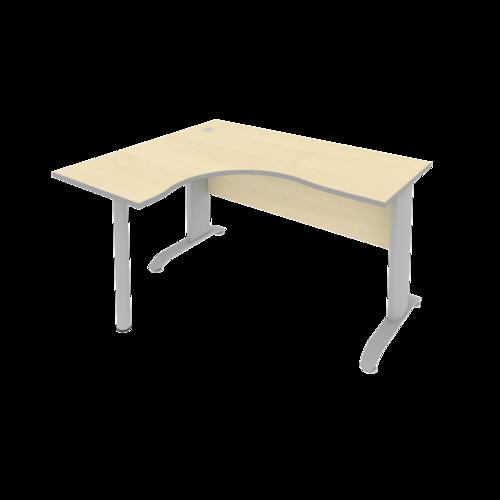 Стол рабочий эргономичный ПЛ.СА-3 Л 140 см