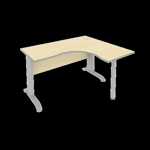 Стол рабочий эргономичный ПЛ.СА-3 Пр 140 см