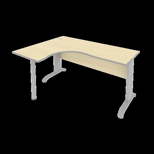 Стол рабочий эргономичный ПЛ.СА-4 Л 160 см