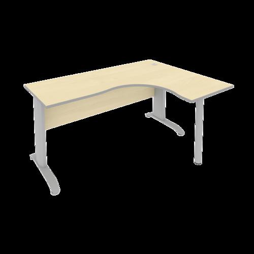 Стол рабочий эргономичный ПЛ.СА-4 Пр 160 см